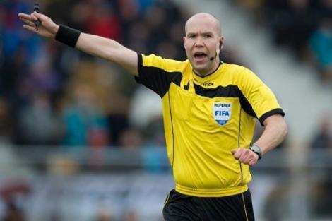 Brigadă de arbitri finlandeză la meciul dintre FC Sabail şi U Craiova, din Liga Europa