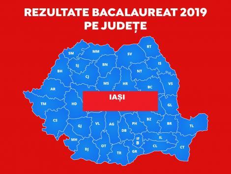 Rezultate Finale BAC 2019 - Iași. Vezi note afișate pe a1.ro