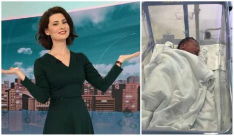 Prezentatoarea Observatorului, Mihaela Călin, a devenit mămică!