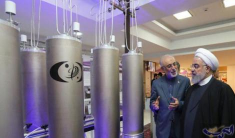 Iranul începe să îmbogăţească uraniu la un nivel interzis prin Acordul de la Viena