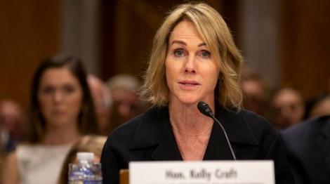 Kelly Craft, soţia unui miliardar în domeniul cărbunelui, confirmată în Senat în postul de ambasadoarea SUA la ONU