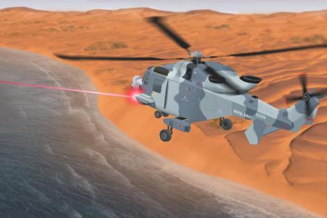 Marea Britanie va folosi laserul pentru a se apăra de atacurile cu rachete şi drone