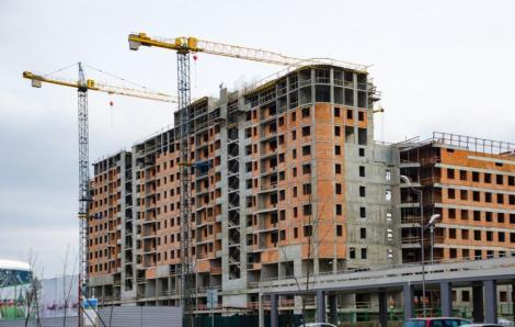 Sectorul construcţiilor a încetinit în iunie, cu o creştere de 21,9%