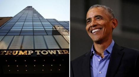 """Adresa Trump Tower din New York ar putea deveni """"725 avenue Obama"""", în baza unei petiţii online"""