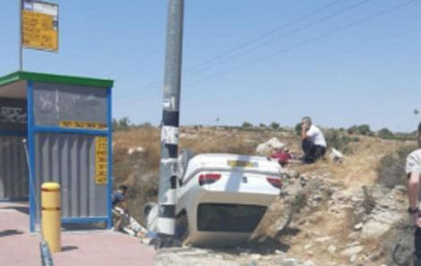 Doi israelieni răniţi într-un atac cu maşina în sectorul în care a fost găsit corpul unui militar înjunghiat în Cisiordania
