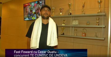 """Cezar Ouatu se pregătește pentru noul sezon """"Te cunosc de undeva!"""" în sala de box: """"Am câte o laterală pentru fiecare"""""""