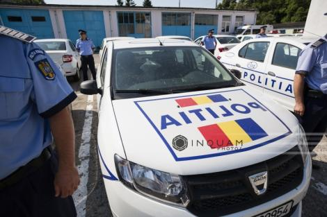 Şase copii, prinşi de poliţişti când cerşeau la Costineşti; ei au fost duşi într-un centru al DGASPC