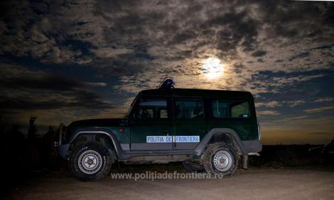 Şaisprezece irakieni şi afgani, prinşi de poliţiştii de frontieră de la Borş când încercau să treacă ilegal în Ungaria