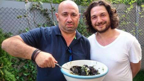 Chef  Scărlătescu a dezvăluit secretul! Cum se face cea mai bună rețetă de scoici din lume
