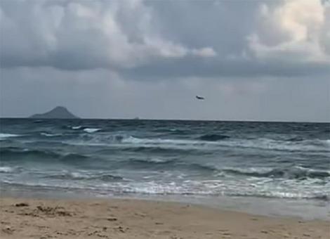 Un avion militar spaniol s-a prăbuşit în mare. Pilotul a murit