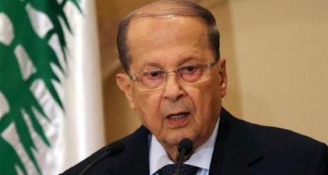 Preşedintele libanez Michel Aoun consideră că atacurile cu drone ale Israelului sunt echivalente cu o declaraţie de război