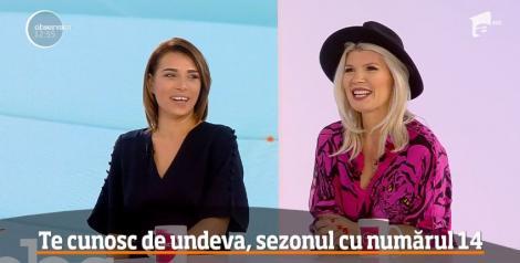 """Cum se pregătesc Diana Matei şi Sorana Darclee Mohamad pentru noul sezon """"Te cunosc de undeva!"""": """"A durat patru ore machiajul! Mi-au pus latex pe față și aexplodat"""" – Video"""