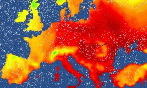 Alertă! Condiții meteo periculoase țară! Zonele afectate, în următoarele ore