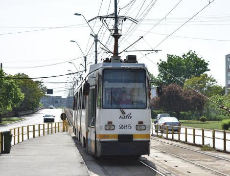 Tramvaiul 41 și-a reluat activitatea. O nouă linie de autobuze, 643, va intra în funcțiune