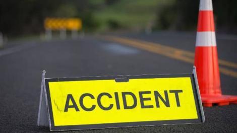 Accident în lanț pe Autostrada Soarelui. Sunt implicate patru autovehicule