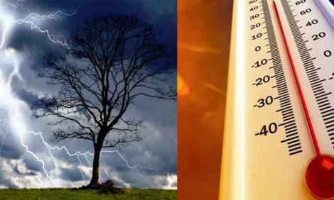 Cum va fi vremea în perioada 5 august - 2 septembrie! România, între caniculă și ploi torențiale! Care vor fi zonele afectate