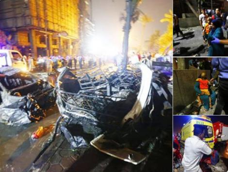 Posibil atentat în Egipt. Cel puțin 17 morţi şi zeci de răniţi, după ce o maşină intrat cu viteză pe contrasens