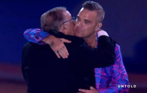 Robbie Williams, show de excepție la Untold 2019. Cu cine a cântat acesta pe scenă? Publicul a fost emoționat pâna la lacrimi