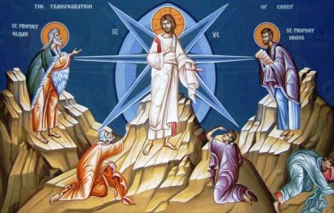 Calendar ortodox 6 august. Schimbarea la Față a Domnului, cruce roșie