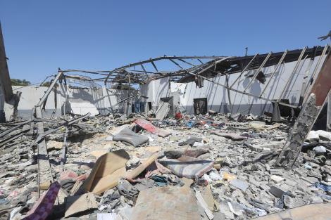 Atac aerian în Libia. Peste 50 de persoane au fost ucise