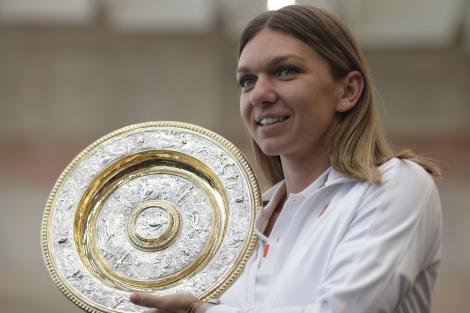 Simona Halep a fost aleasă jucătoarea lunii iulie, în ancheta efectuată de WTA