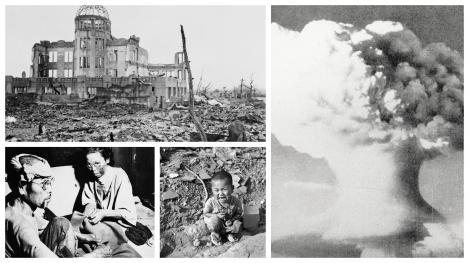 """Dezastrul de la Hiroshima, prin ochii unei tinere asistente. """"Le cădea pielea de pe ei. Țipau. Trupurile lor s-au umplut de viermi. Au murit unul după altul"""""""