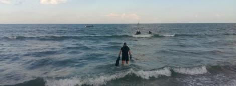 Un bărbat a dispărut în mare, în stațiunea Eforie, în timp ce făcea o baie. Autoritățile îl caută neîntrerupt