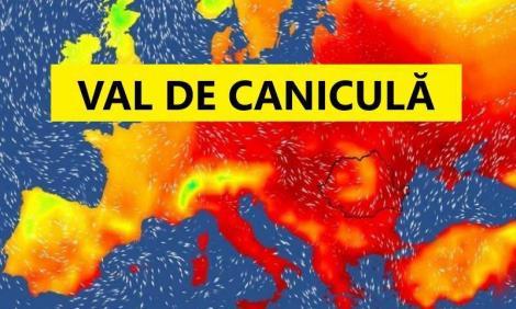 Vremea 7 august 2019. Temperaturi caniculare și ploi pe arii restrânse