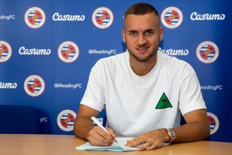 George Puşcaş a semnat cu Reading. Fotbalistul va evolua cinci sezoane pentru clubul britanic