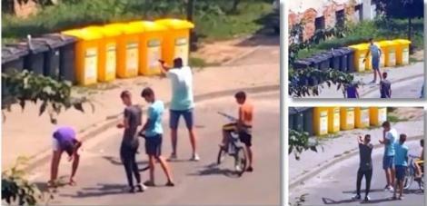 Împuşcături în stradă și oameni înspăimântaţi, la Timişoara. Doi tineri au tras în trecători în plină zi. Video