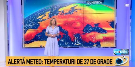 Avertizări majore privind vremea caniculară. România va fierbe la peste 40 de grade în acest weekend