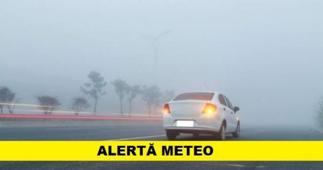 Meteo 10 septembrie. Patru județe se află sub cod galben de ceață