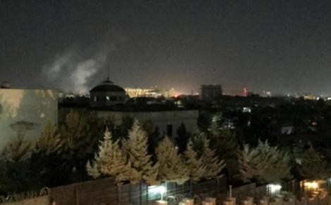 Tir de rachetă la Kabul în ziua marcării atentatelor de la 11 septembrie
