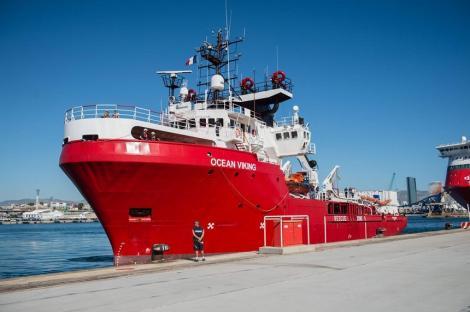 Acord între Italia şi alte ţări din UE pentru preluarea migranţilor de pe nava Ocean Viking din Mediterana