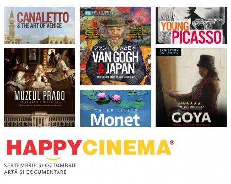 Maraton cultural la Happy Cinema: artă și film documentar