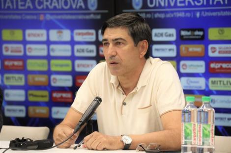 Piţurcă anunţă un nou transfer la CSU Craiova. Fostul selecţioner spune că are emoţii la debutul lui pe banca oltenilor