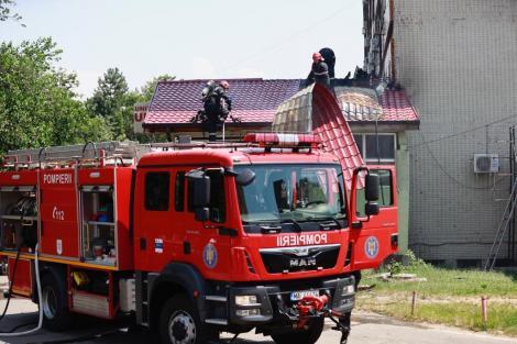 Neamţ: O femeie şi doi copii au murit într-un incendiu