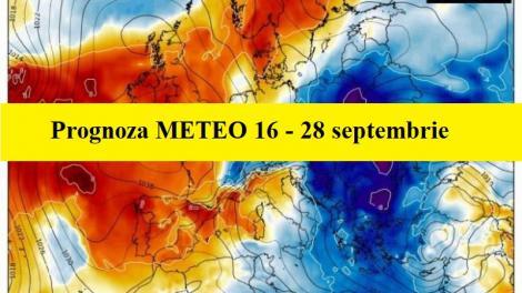 Vreme schimbătoare în următoarele două săptămâni. Prognoza meteo până pe 29 septembrie