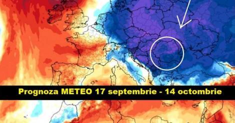 Schimbări radicale anunțate de ANM. Prognoza meteo actualizată până pe 14 octombrie