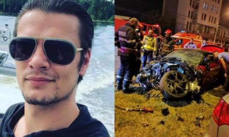 Mario Iorgulescu, implicat și în alte accidente înainte de cel în care a pierit Dani Vicol! Tânărul a făcut praf mașini de sute de mii de euro în străinătate