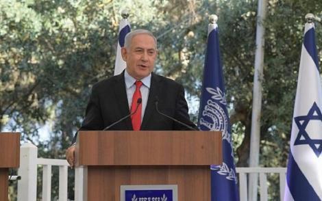 Premierul israelian Benjamin Netanyahu reiterează intenţia de a anexa toate aşezările israeliene din Cisiordania ocupată