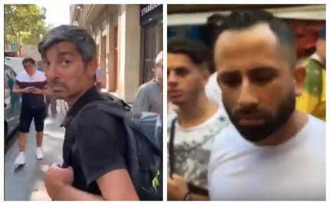 """VIDEO. Cum a reacționat un hoț român, plesnit peste ceafă de un spaniol hotărât să """"altoiască"""" mai mulți tâlhari! """"Ce faci, mă? Hai..."""""""