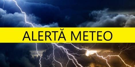 Vremea se dezlănțuie în România! Alertă meteo, ANM: ploi torențiale până vineri