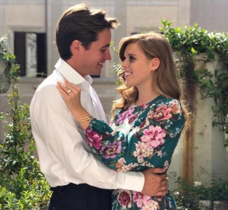 Prinţesa Beatrice s-a logodit cu Edoardo Mapelli Mozzi