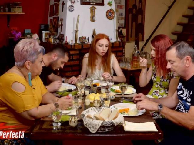 """Sigur nu asta și-a dorit Geta să fie reacția invitaților, în momentul degustării aperitivului! Adrian: """"M-am simțit jignit"""""""