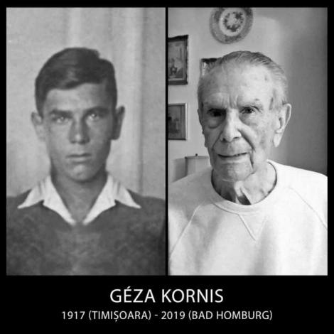 """A murit Géza Kornis, ultimul supraviețuitor al Holocaustului dinTransnistria. """"Perioada de acum șaizeci, șaptezeci, optzeci de ani este fundamental deosebită de cea de azi."""""""