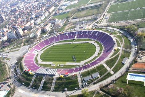 Compania Naţională de Investiţii a lansat licitaţia pentru documentaţiile necesare pentru construirea unui nou stadion la Timişoara; arena va avea 30.000 de locuri