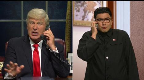 """""""Saturday Night Live"""" - Trump a dat telefoane pentru a scăpa de punerea sub acuzare. Kim Jong-un, între sfătuitori"""