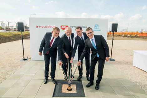 Grupul MOL a demarat construcţia unei fabrici de polioli de peste 1,2 miliarde de euro în Ungaria