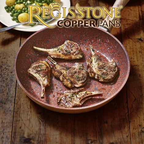 CONCURS! Răspunde la o întrebare despre Chef Scărlătescu și poți câștiga o super tigaie Regis Stone Copper Pan 28 CM